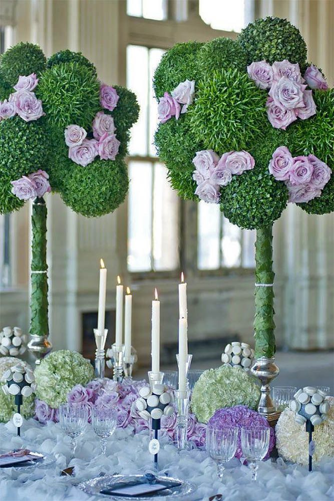 Gorgeous Tall Wedding Centerpieces To Impress Your Guests ❤ See more: http://www.weddingforward.com/tall-wedding-centerpieces/ #weddings