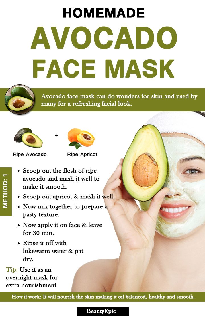 avocado face mask: benefits + top 6 face mask recipes (with