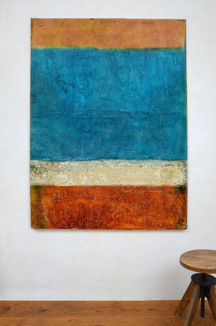 summer 2, 160 x 120 x 5 cm, Mischtechnik auf Leinwand