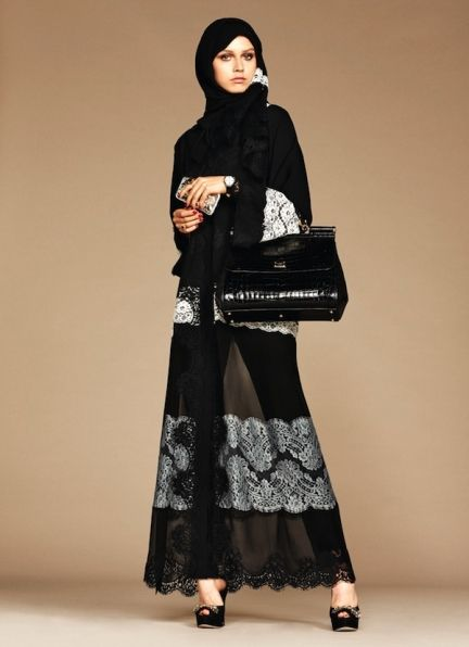 Dolce & Gabbana has dropped a line of hijabs and abayas | Fashion Journal