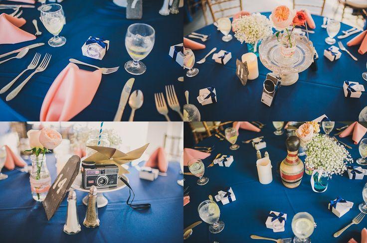 Sam + Lexi | Stone Manor Country Club Wedding #WeddingPhotography #Centerpiece