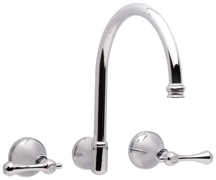 Bastow Georgian Lever Wall Sink/Spa Set | Reece Bathroom Products $471