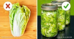 10хитростей, которые сохранят ваши продукты свежими надолго