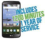 """#10: LG Premier 5.3"""" Android TracFone with 1200 Minutes/Texts/Data Triple Minutes for Life"""
