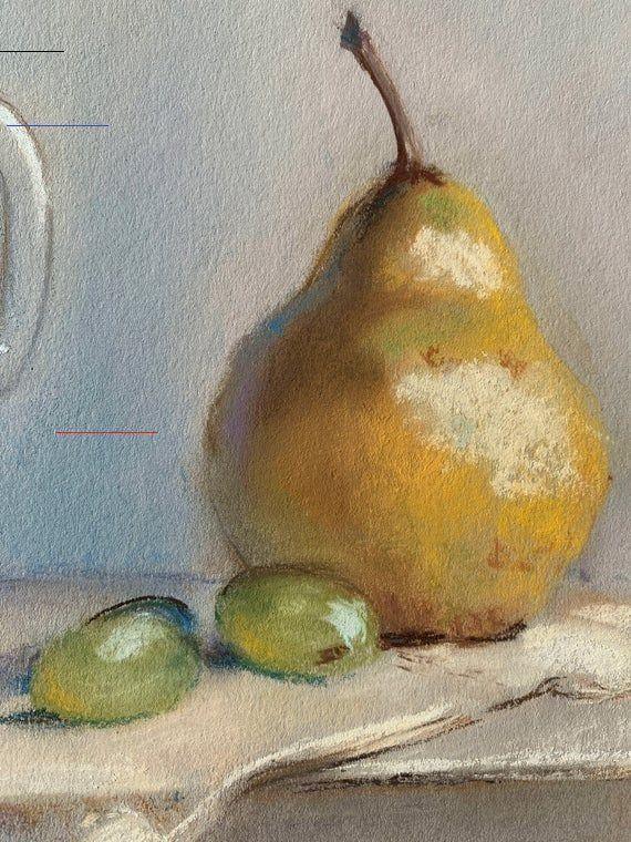 Oil Pastel Painting Still Life Painting Original Painting Still Life Art Kit 2020