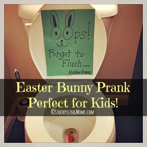 Easter Bunny Prank - So much for for the kids on Easter morning!