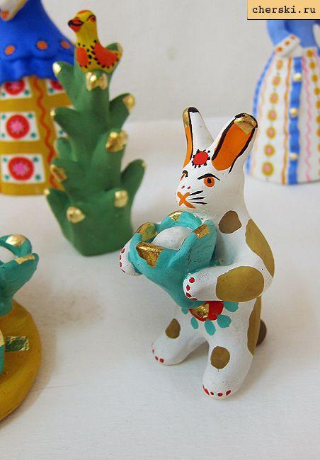 Дымковский заяц