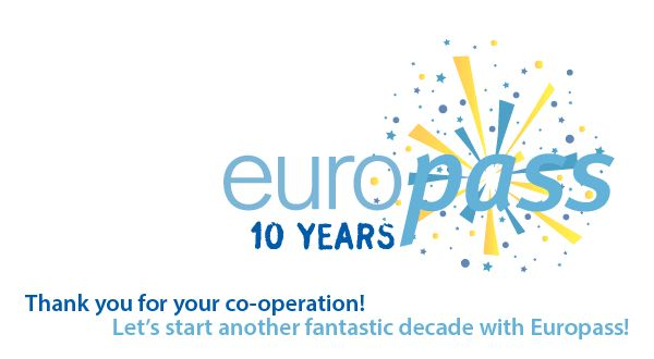 Happy anniversary #Europass! #Europass10Years