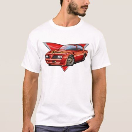 77-78 Red Firebird TA T-Shirt - tap to personalize and get yours