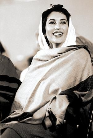 Benazir Bhutto. Not exactly the person the world thought she was. But nonetheless brave, intelligent, and a trailblazer.