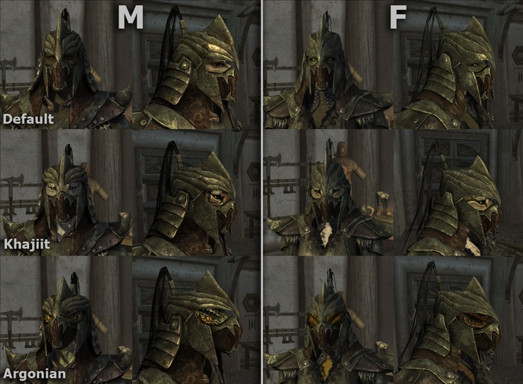 different types of masked orcish helmets   Skyrim ...