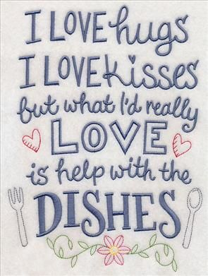 48 best Embroidery Designs: Kitchen Towels images on ...