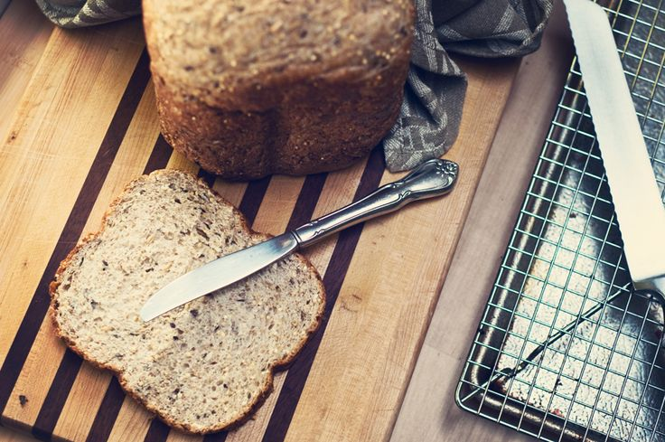 Whole Wheat Machine Bread-- can be made vegan, my absolute favorite all whole wheat bread recipe.