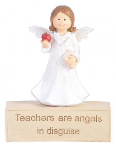Adoring Angel Figurine - Teacher