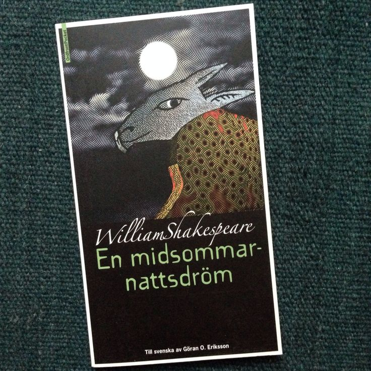 One of my favourite book cover series, Shakespeare illustrated by Per Åhlin. Book design by Christer Hellmark.