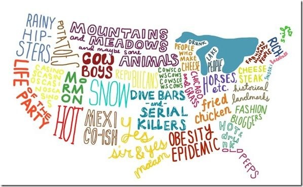 Map of the USHipster, Except, Fries Chicken, Maps, Parties, Serial Killers, Funny, Fashion Bloggers, United States