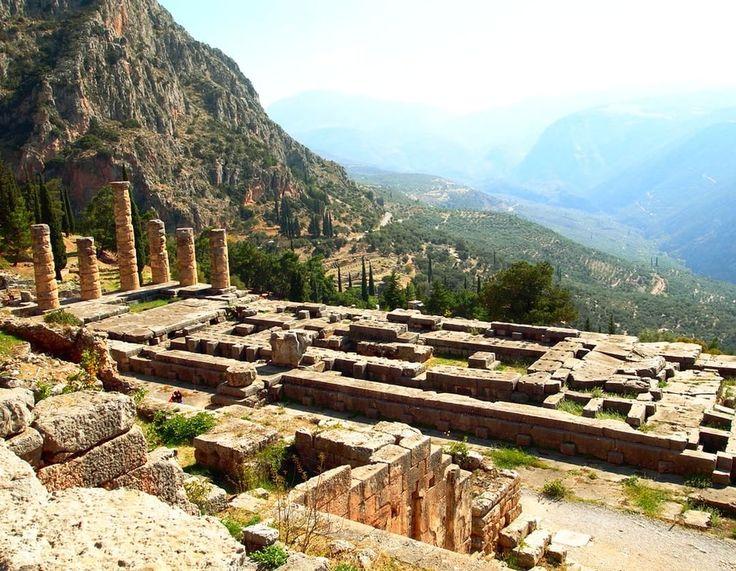Delphi, archeological site, Greece.