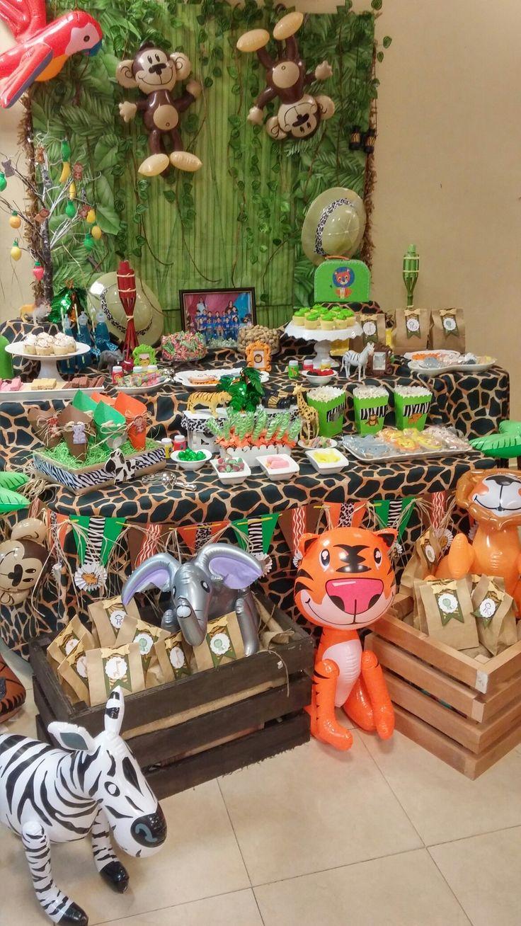 Safari candy bar