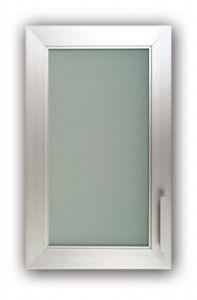 Aluminum Frame Glass Cabinet Doors Decor Pinterest