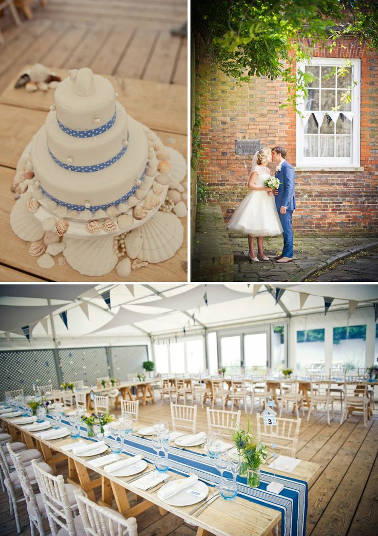 Coastal Beach Wedding Inspiration The Gallivant East Sussex