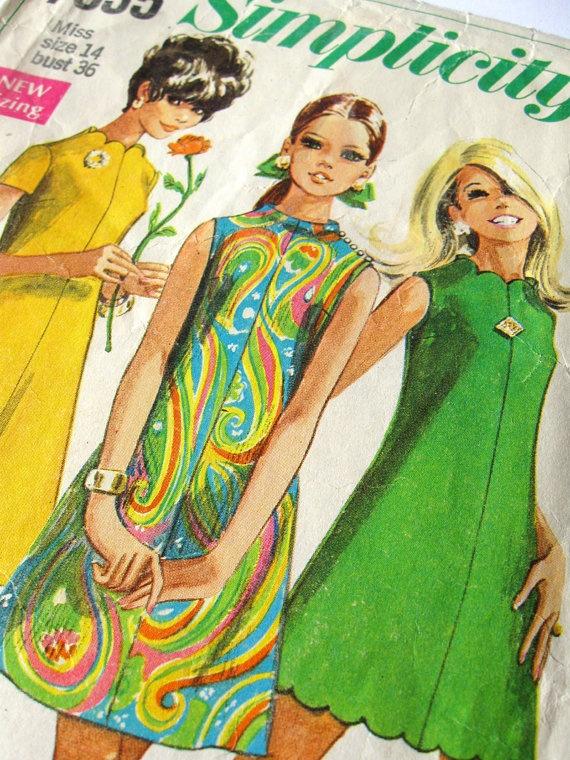 55 besten Patterns Bilder auf Pinterest | Vintage kleider, Vintage ...