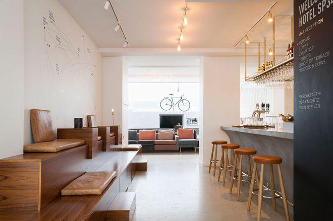 sp34 boutique hotel; Copenhagen, Denmark  #cph #hostel #copenhagen #design