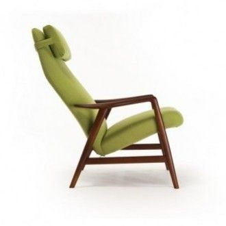 This is ikea 39 s poang chair 39 s predecessor love danish modern lounge chairs furniture - Chairs similar to poang ...