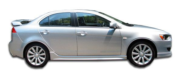 2008-2015 Mitsubishi Lancer Duraflex GT-S Look Side Skirts Rocker Panels - 2 Piece