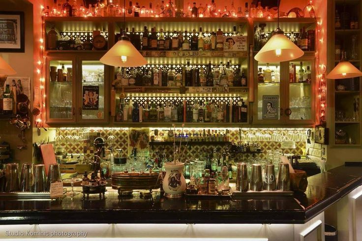 """The Gin Joint - Is there a better cocktail bar name than the """"Gin Joint""""? one of the best cocktail bars in #Athens"""