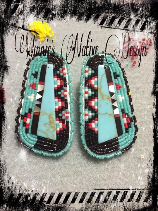 earrings, Winnie's Native Design (Diné)