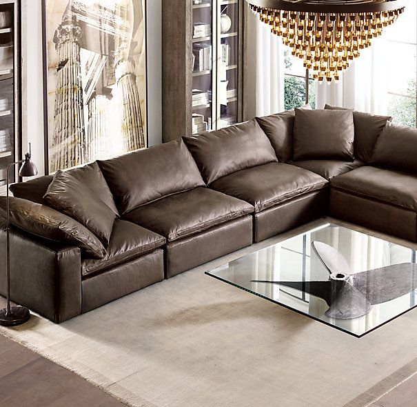 cloud cube modular sectional-- restoration hardware : restoration hardware sectional sofa - Sectionals, Sofas & Couches