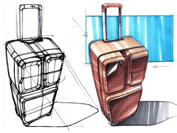 product designers | Industrial Design Marker Sketch Tutorial - Car Body Design
