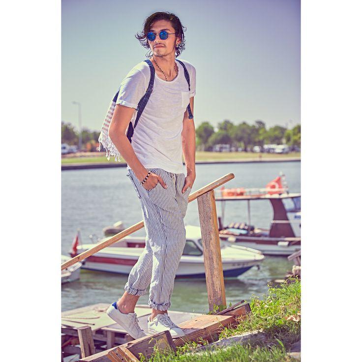 LTB erkeğinin vazgeçilmez marin stili🚣🏼⚓️ #ltb #ltbjeans #denim #jeans #marine #summer #mensfashion