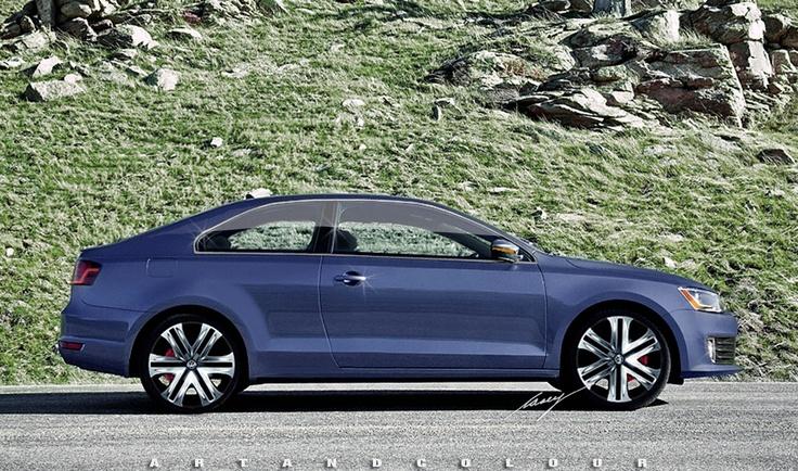 2014 Volkswagen Jetta Coupe concept