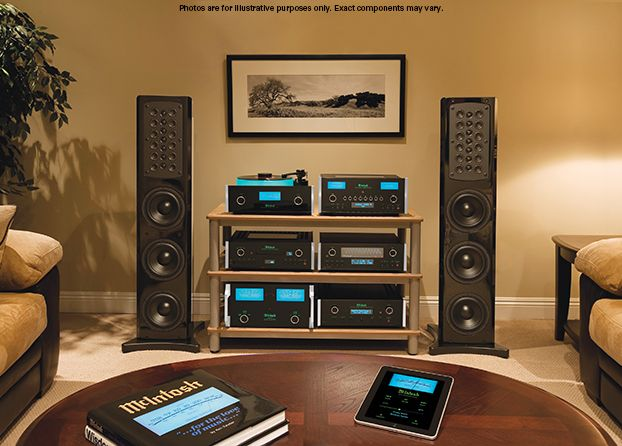 McIntosh SoHo I Music System: Complete System with Amplifiers, Media Players, Turntable, Room Correction and Speakers