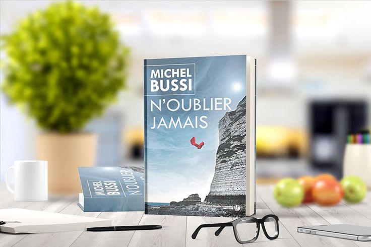N'oublier jamaisde Michel Bussi:À Yport, parti courir sur la plus haute falaise d'Europe, Jamal a d'abord remarqué l'écharpe, rouge, accrochée à une clôture. Puis la femme, incroyablement belle, l