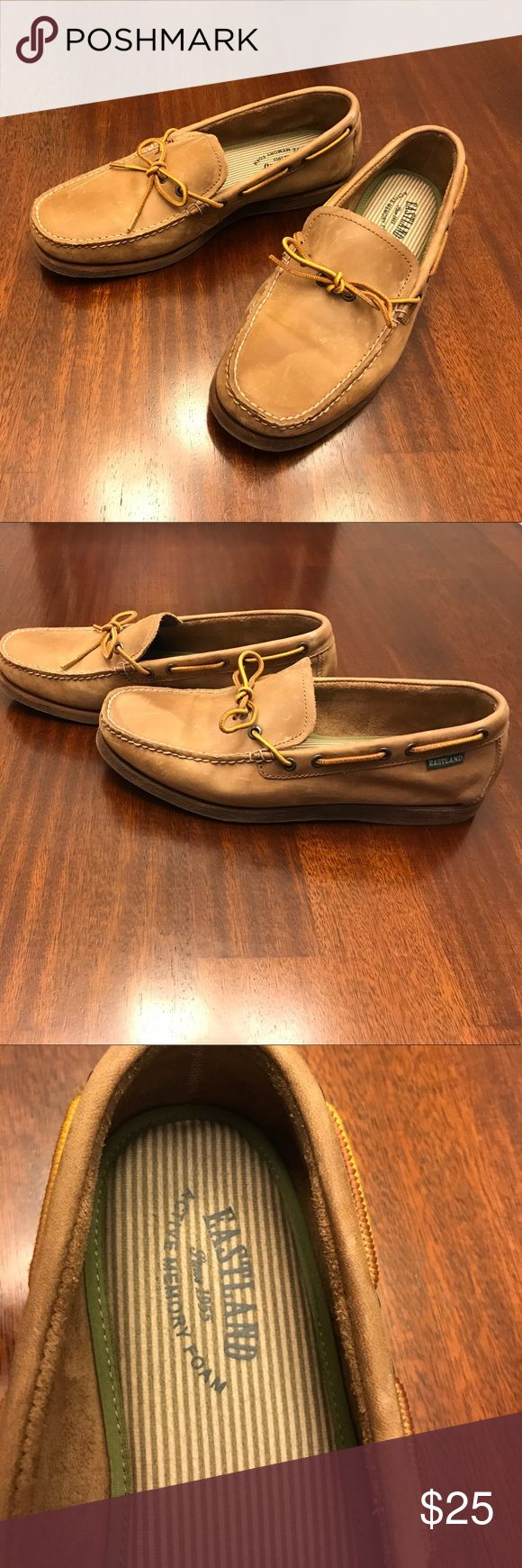 Men's Eastland Loafers Camel colored men's loafers. My husband only wore them once. Excellent Condition! Eastland Shoes Loafers & Slip-Ons