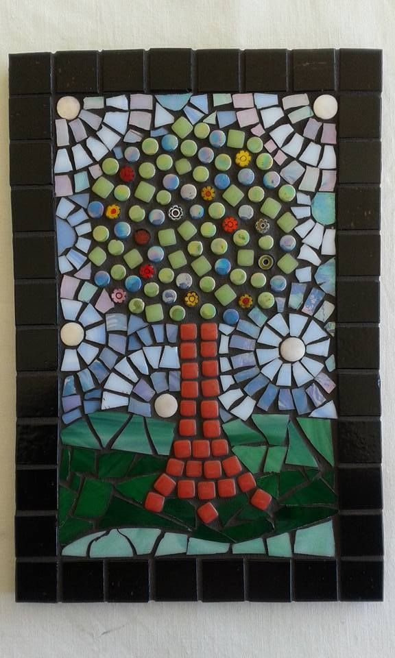 The Apple Tree Mosaic by Tammy Betson £32.00