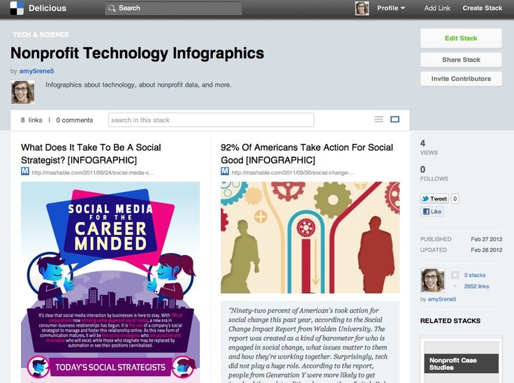 Pinterest or Delicious: Social Bookmarking Coming back as Digital Curation
