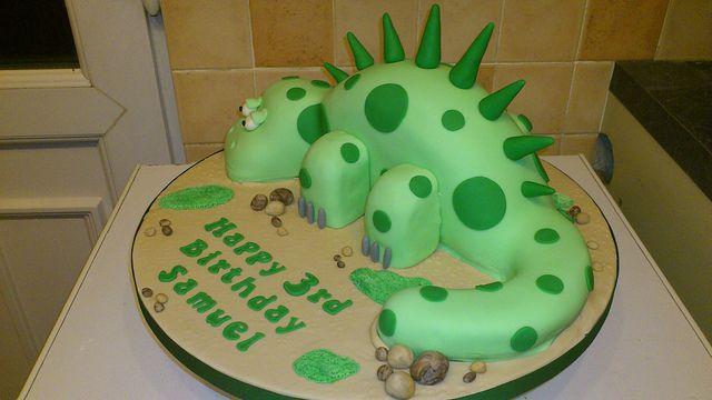 dinosuar birthday cakes for boys | Dinosaur Cake | Flickr - Photo Sharing!