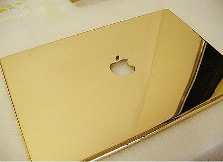gold mac book