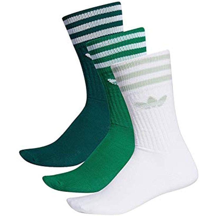 adidas Solid Crew Socks Socken 3er Pack #Schuhe-Handtaschen #Schuhe #Bekleidung …