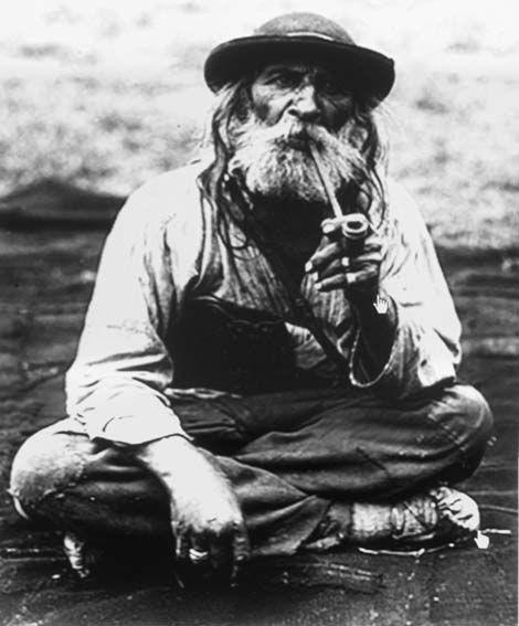 Румынский цыган-булибаша. Снимок из фотальбома Ионеску. Начало 1930-х.