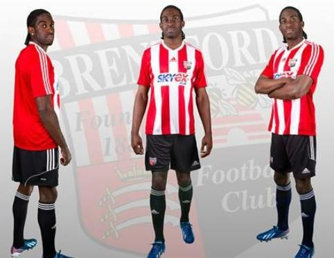 This is the new Brentford kit 2013/2014, Brentford FC's new home jersey for the forthcoming 2013/14 League One season. The Bees finished 3rd in the 2012/13 season and reached the playoff fina…