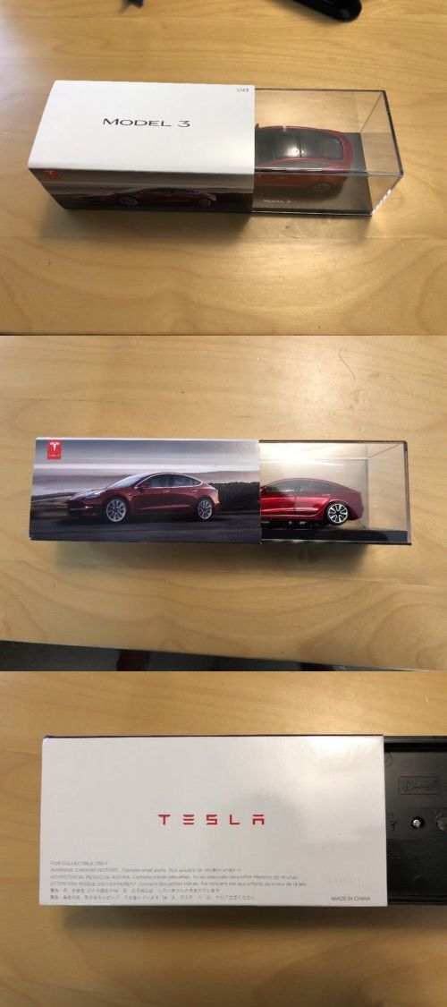 Diecast And Toy Vehicles 222 Brand New Genuine Tesla Model 3 Diecast Replica Toy Car 1 43 Buy It Now Only 79 99 On Ebay Tesla Model Toy Car Diecast