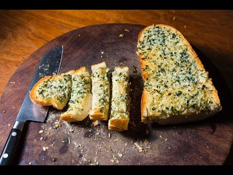 Best Garlic Bread recipe - SAM THE COOKING GUY online cooking show - YouTube