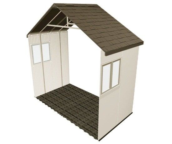 6426 Lifetime storage shed 60-inch extension kit.