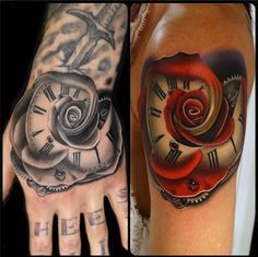 Beautiful with color or without.  Morphed Roses by Andres Acosta from Inked Magazine