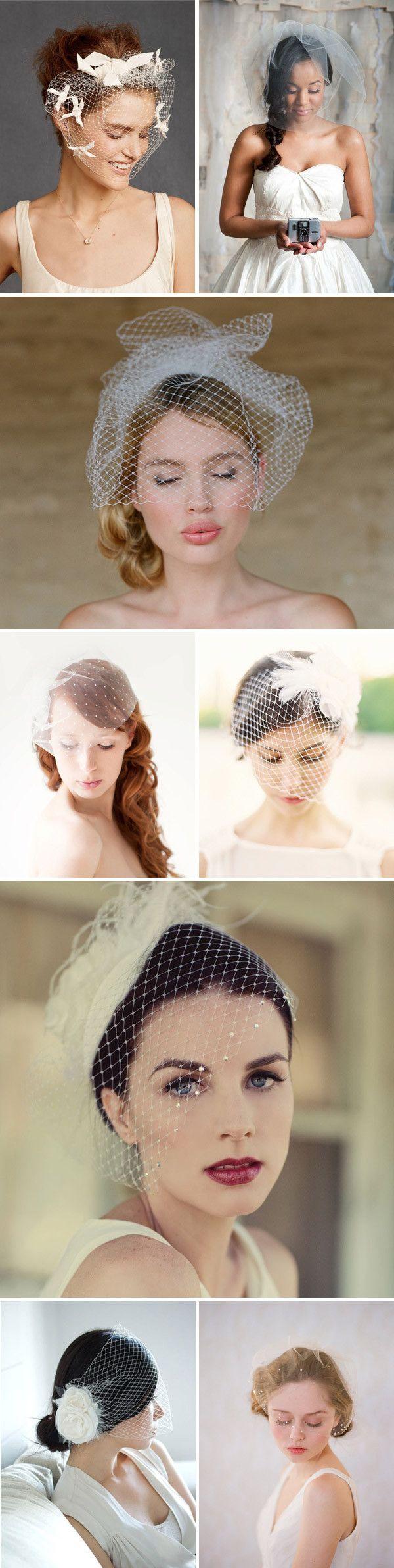 The Birdcage veil...hmmm