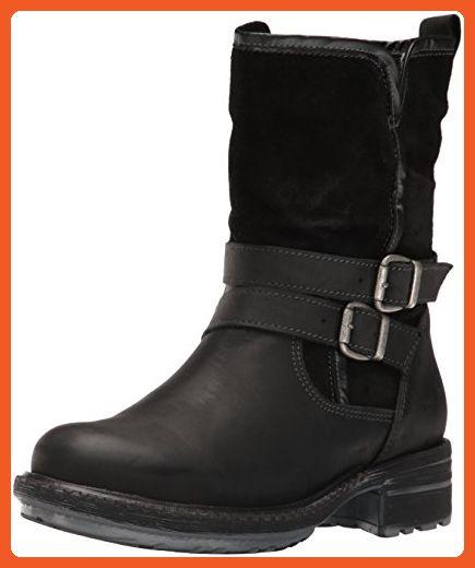 Bos. & Co. Women's Sahara Snow Boot, Black Cromagnum/Oil Suede, 38 EU/7.5-8 M US - Boots for women (*Amazon Partner-Link)